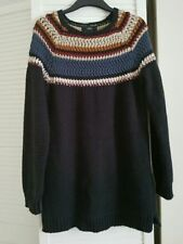 Fair Isle, Nordic Crew Neck Long Jumpers & Cardigans for Men
