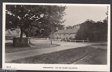 Postcard Dallington Northampton a view in The Old Village old RP