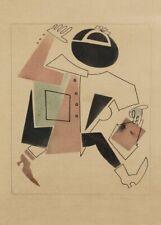 Nepman, 1922, Vladimir Lebedev vintage russe Poster