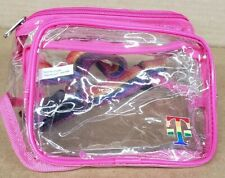 New With Tags T-Mobile Tuesday Clear Gay Pride Rainbow & Pink Fanny Pack LGBTQ
