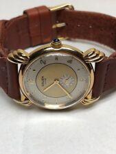 Swiss Gruen Precision Watch Unique Gold& White Dial GS 1032