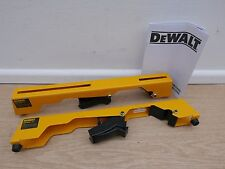 DEWALT DE7025 MITRE SAW MOUNTING BRACKETS FOR DE7023 & DE7033 TRACKSTANDS