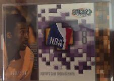 2001-02 UPPER DECK UD PLAYMAKERS JERSEY PATCH NBA LOGOMAN KOBE BRYANT 1/1 29/350