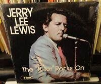 "sealed JERRY LEE LEWIS The ""Killer"" Rocks On 1976"