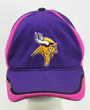 Minnesota Vikings Pink Ribbon Breast Cancer Awareness Purple Baseball Hat