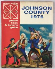 Bicentennial 1976 Reference Telephone Directory Johnson County Cleburne Texas
