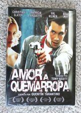 AMOR A QUEMARROPA (CHRISTIAN SLATER, PATRICIA ARQUETTE). DVD NUEVO PRECINTADO!