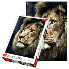 Trefl 1500 Piece Adult Large Image Lion Portrait Picture Jigsaw Puzzle NEW