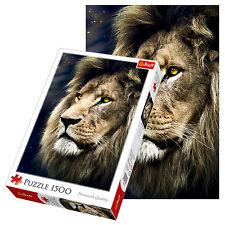 Trefl - 26139 Puzzle le Portrait de Lion 1500 Pièces