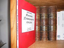 Historic German Newspapers Online Genealogy Book