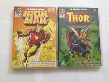 The Mighty Thor & IRON-MAN - The Complete Series (DVD, 2007, 2-Disc Set) RARE