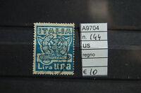 FRANCOBOLLI ITALIA REGNO USATI N°144 (A9704)