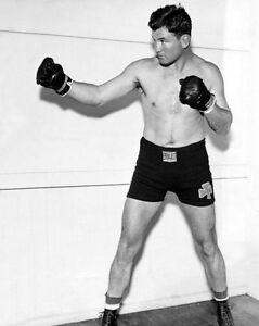 1937 American Boxer JAMES J BRADDOCK Glossy 8x10 Boxing Photo Heavyweight Print