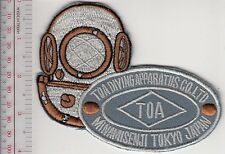 SCUBA Hard Hat Diving Japan TOA Diving Apparatus Co. Ltd Founded in 1924 Acq gr