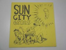 "Sun City Girls and so the dead tongue sang...1987 -187/500 7""  Richard Bishop"