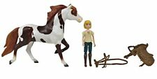 Breyer Spirit Riding Free - Boomerang and Abigail Small Horse and Doll Toy Set