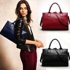 Fashion Women Genuine Leather Handbag Shoulder Bag Large Tote Satchel Stylish