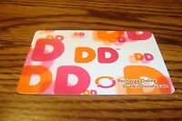 DUNKIN DONUTS GIFT CARD NO VALUE-Never Used or Activated Collectable  2013