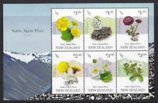 NEW ZEALAND 2019 ALPINE FLORA MINIATURE SHEET UNMOUNTED MINT, MNH