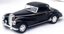 Diecast Mercedes Benz 1955 300S convertible in black