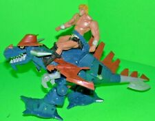 MASTERS OF THE UNIVERSE 2002 MATTEL WORKING DRAGON ATTACK VEHICLE & HE-MAN FIG