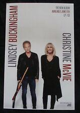 Lindsey Buckingham Christine McVie poster original record store promo