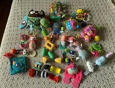 Big Lot 19 Baby Rattles Crinkle Teethers Colorful Learning Developmental Toys