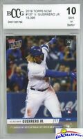 2019 Topps Now #137 Vladimir Guerrero Jr FIRST PRINTED TOPPS RC BECKETT 10 MINT