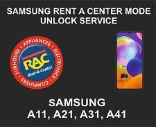 Samsung Rent A Center Mode Unlock Service, Samsung A11, A21, A31, A41