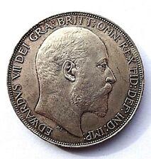 More details for edward vii 1902 crown ef/aunc
