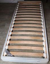 BASE PER MATERASSO IKEA SULTAN ALVERSUND 1 PIAZZA 80X200 COMPRESE DOGHE NUOVA