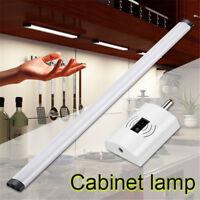 LED Rigid Strip Bar Light Tube Lamp Kitchen Cupboard Under Cabinet Switch Sensor