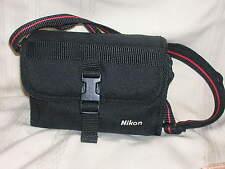 "Nikon Camera Case 4 3/4"" X 7"" X 2 1/2"" Black with Photo Book"