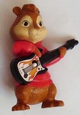 Fox tocando la guitarra de juguete de plástico