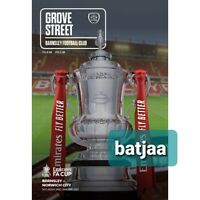 Barnsley -Scored 1:0 v Norwich City FA CUP 4TH ROUND PROGRAMME 23/1/21 BUY NOW