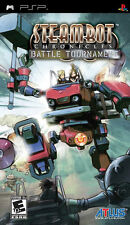 Steambot Chronicles: Battle Tournament PSP New Sony PSP