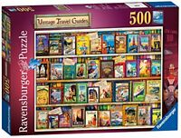 Ravensburger Vintage Travel Guides Puzzle Family Game Kids Gift 500 Piece Jigsaw