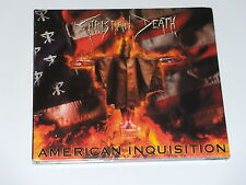 CD - CHRISTIAN DEATH - AMERICAN INQUISITION -  2007 -   NEUF SCELLE