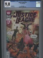 Justice League #37 CGC 9.8 Scott Snyder FRANCIS MANAPUL cover 2020