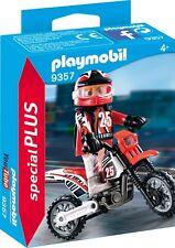 PLAYMOBIL® special PLUS  9357   Motocross-Fahrer, NEU & OVP