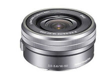 Sony SELP1650 16-50mm F/3.5-5.6 PZ OSS Lens Silver -Bulk package