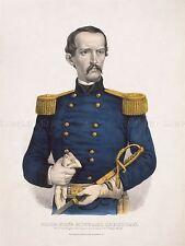 Peintures général Michael Corcoran guerre civile américaine irlandais imprimer lv3349