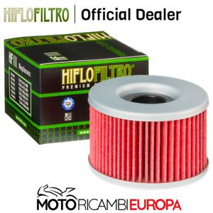 FILTRO OLIO HIFLO HF111 PER HONDA CB450 SG (27 PS)PC17 1986 1987 1988