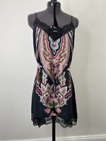 Lenni The Label Boho Slip Dress Size 10 VGUC
