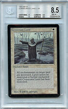 MTG Beta Consecrate Land BGS 8.5 NM-Mint+  Magic the Gathering WOTC Card 1993