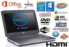 DELL Latitude Laptop Windows 10 PRO Core I7 8GB 500GB DVD WiFi Notebook WEBCAM