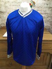 Vintage 1980s Reydon Football Shirt Top Mens 38/40 M England Umbro Chelsea Blue