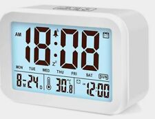 Reloj Despertador Reloj Despertador Digital Led Inteligente hablando, ciega y parcialmente invidentes
