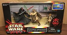 Star Wars Episode 1 Tatooine Showdown Darth Maul Qui Gon Jinn Anakin Commtech