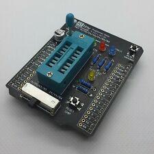 Diy Arduino Shield Attiny Programming Avr Programmer Attiny85 Attiny84 Makers